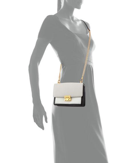 Christy Small Colorblock Shoulder Bag