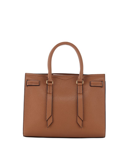 Sherry Leather Satchel Bag