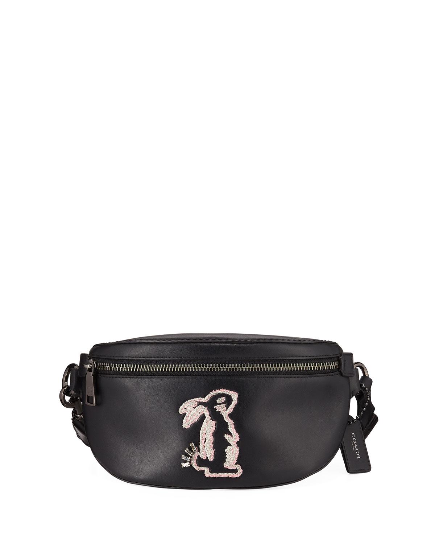 Coach X Selena Gomez Bunny Belt Bag Neiman Marcus