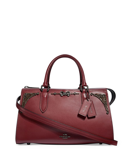 Coach x Selena Gomez Crystal-Embellished Tote Bag