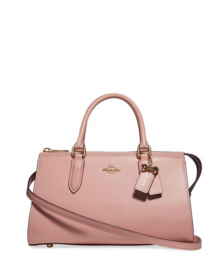 Coach x Selena Gomez Bond Leather Tote Bag