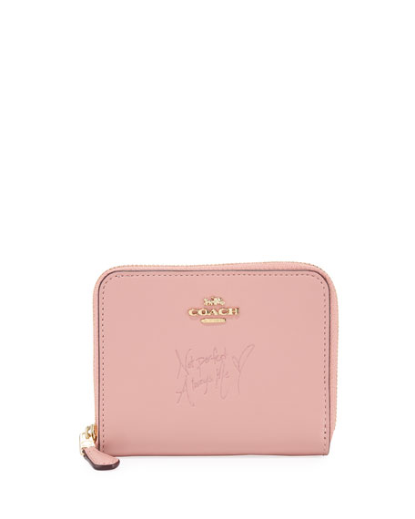 X Selena Gomez Quote Wallet by Coach
