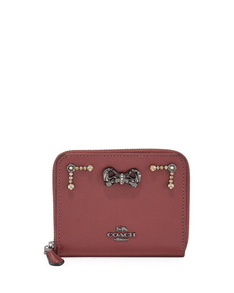 Coach x Selena Gomez Crystal-Embellished Wallet