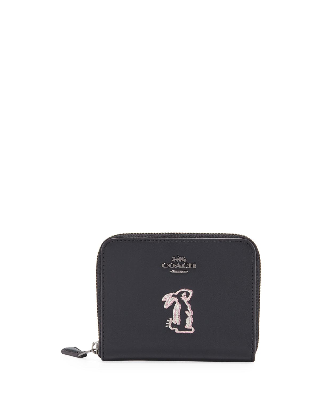 d933e22263149 Coach 1941 x Selena Gomez Bunny Small Wallet