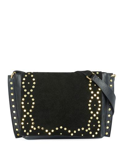 Asli Studded Zoe Shoulder Bag