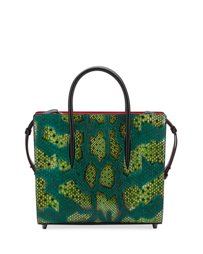 Paloma Medium Python Tote Bag