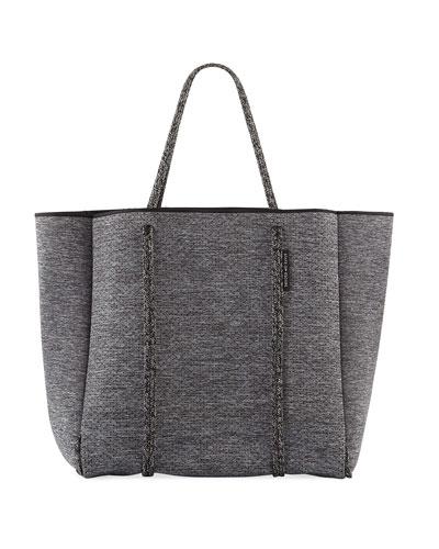 Cityscape Mark Neoprene Tote Bag