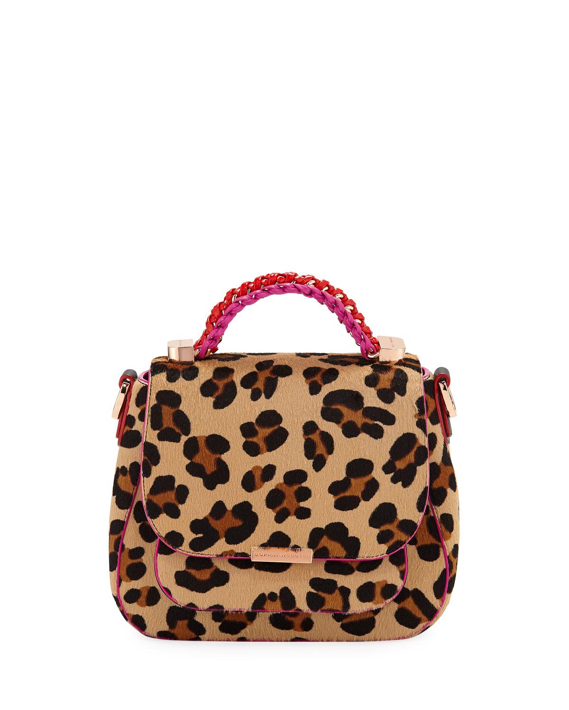 Eloise Leopard Print Crossbody Bag