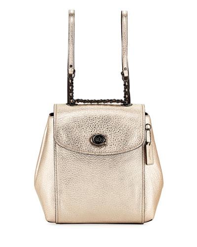 Parker Metallic Backpack