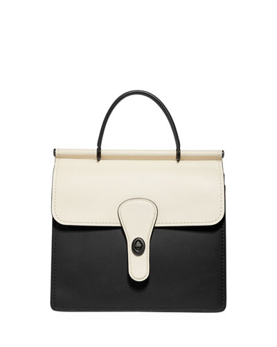 Willis Colorblock Top-Handle Bag
