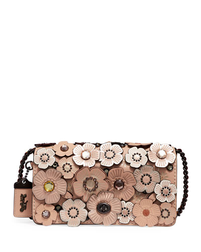 Dinky Crystal Tea Rose Shoulder Bag