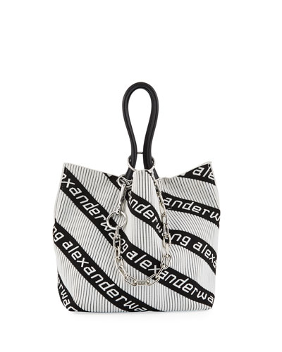 Roxy Small Soft Jacquard Tote Bag