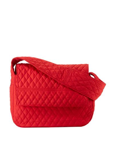 Quilted Shoulder Sack Bag
