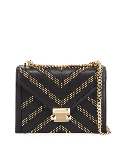 Whitney Large Studded Shoulder Bag