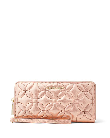 MICHAEL Michael Kors Money Pieces Metallic Travel Continental