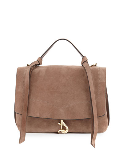 Stella Suede Satchel Bag