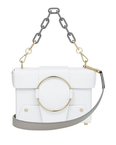 ffe1dfa82f7a Marc Jacobs Shutter Leather Crossbody Bag from mytheresa - Styhunt