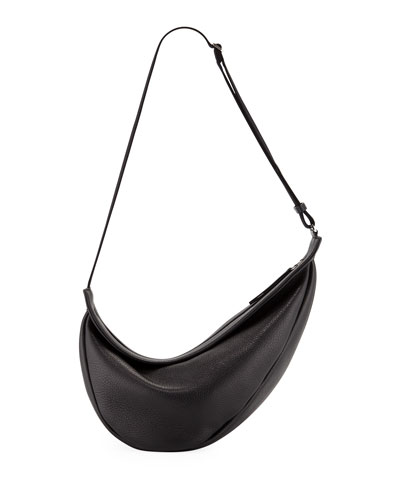 Slouchy Banana Large Leather Crossbody Bag