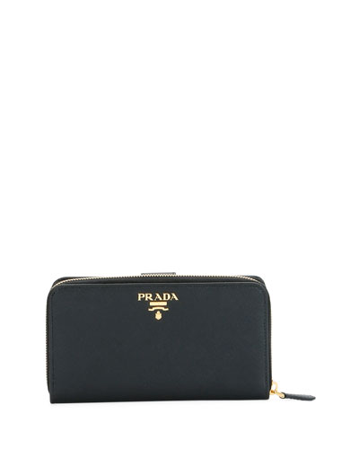 Large Saffiano Tab Wallet