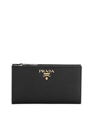 b220aeced5ec Prada Saffiano Wallet