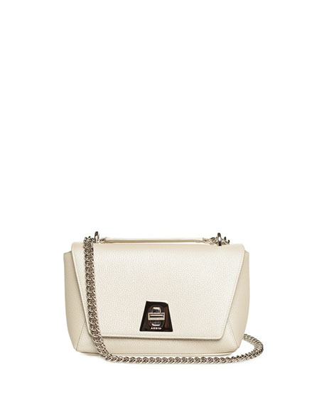 Akris ANOUK SMALL DAY CALF LEATHER CROSSBODY BAG