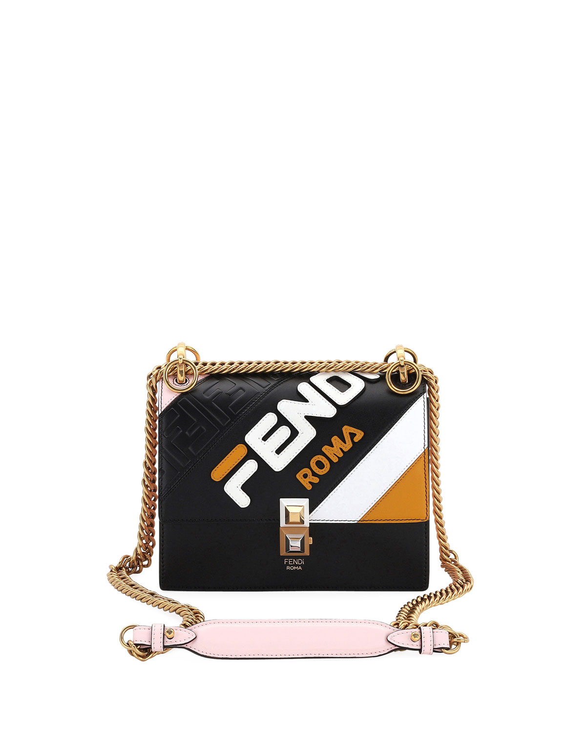 Fendi Mania Kan I Small Shoulder Bag by Fendi