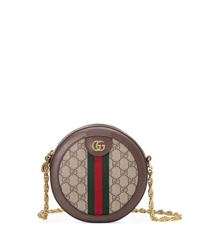 Gucci Ophidia Mini Gg Supreme Canvas Crossbody Bag