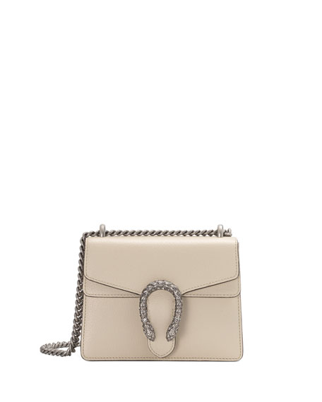 Gucci Dionysus Mini Leather Shoulder Bag with Crystal