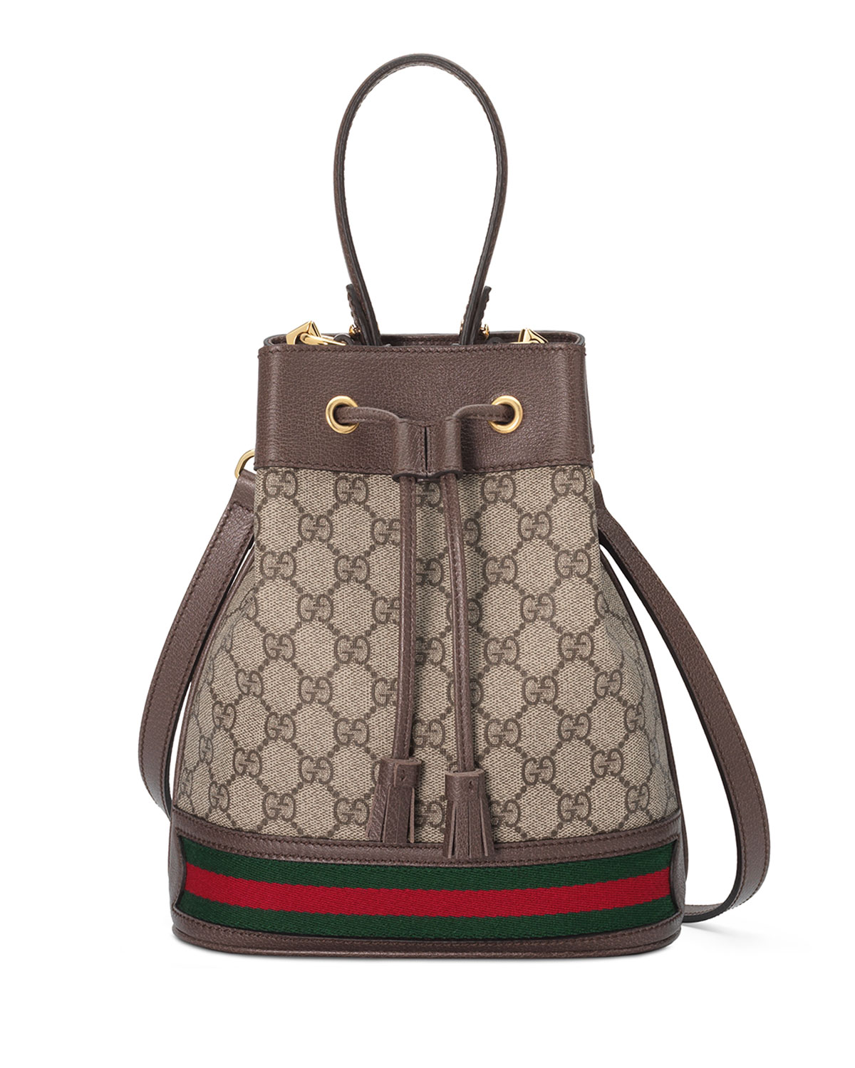 Gucci Ophidia Small GG Supreme Bucket Bag   Neiman Marcus 46bf19a2f7