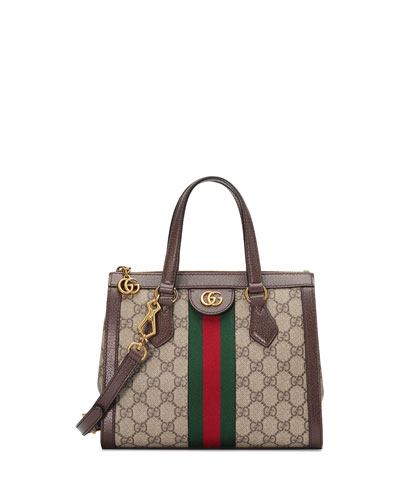 Gucci Ophidia Small Gg Supreme Canvas Tote Bag