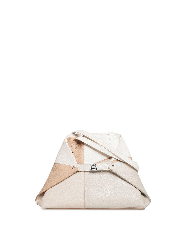 Akris Ai Sunrise Small Soft Shoulder Tote Bag   Neiman Marcus 67792991b7