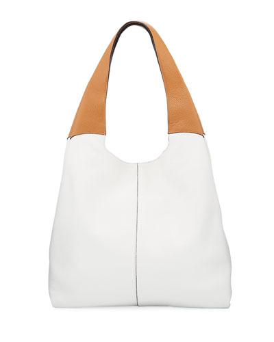 Grand Two-Tone Shopper Tote Bag