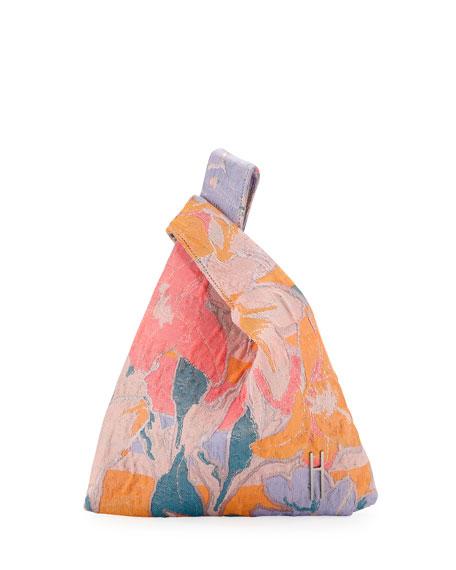Hayward MINI SHOPPER JACQUARD TECH TOP HANDLE BAG