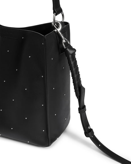 Image 5 of 5  Kathi Small Studded Leather Tote Bag fd2fac05d84d2
