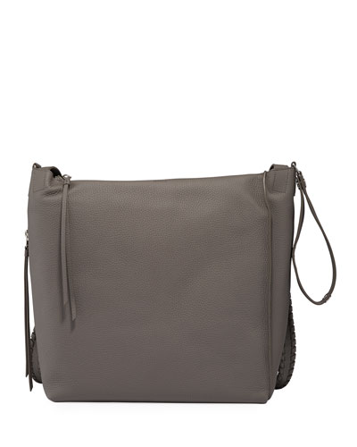 Kita Leather Whipstitched Backpack