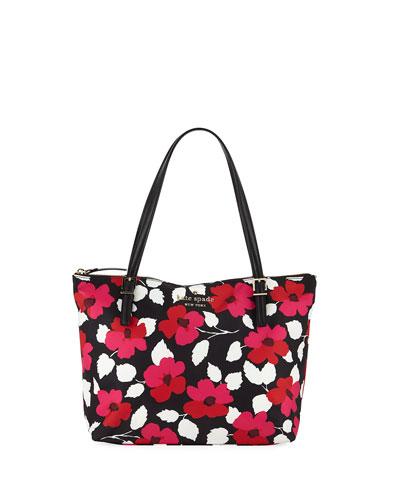 watson lane maya small floral tote bag