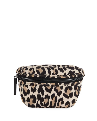 that's the spirit leopard-print belt bag