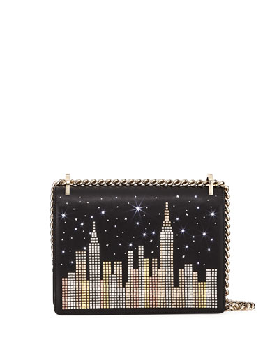 Kate Spade New York Glitzy Ritzy Skyline Marci Shoulder Bag