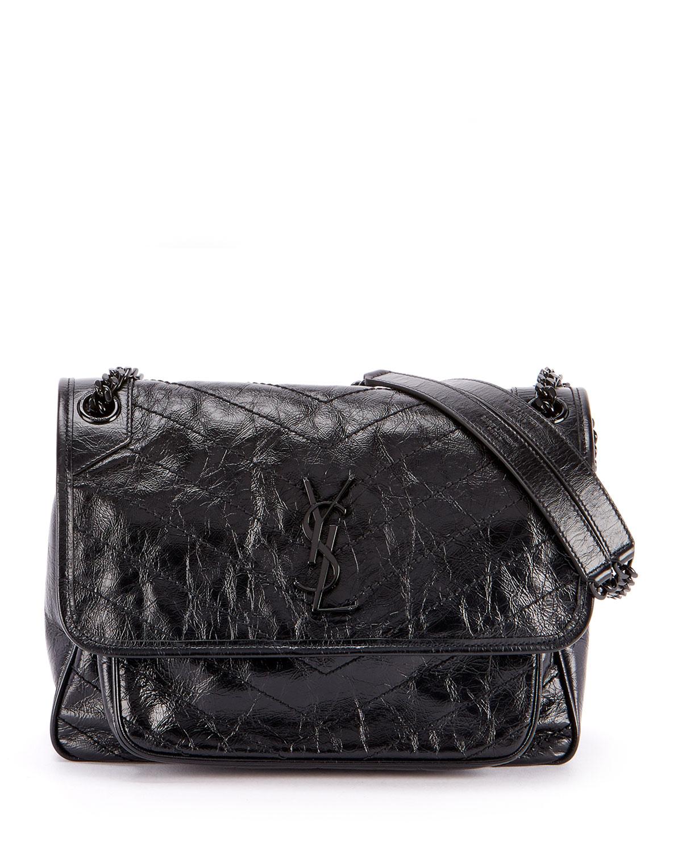 Saint Laurent Niki Large Monogram Ysl Flap Shoulder Bag