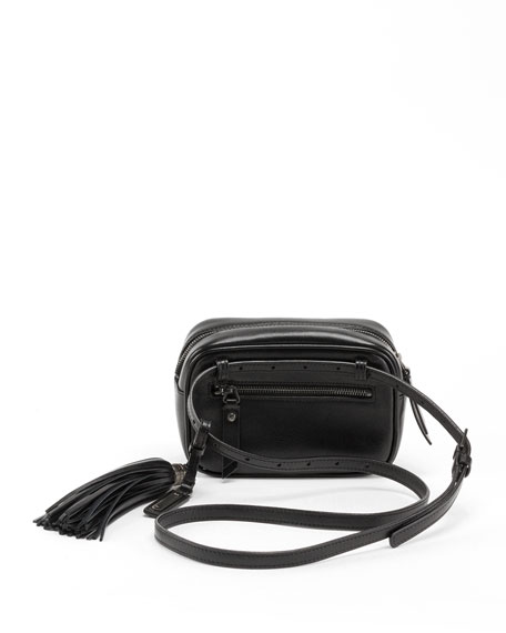 Saint Laurent Lou Monogram YSL Quilted Leather Belt Bag - Black Hardware