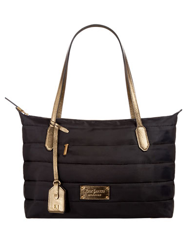Partire Quilted Shoulder Bag