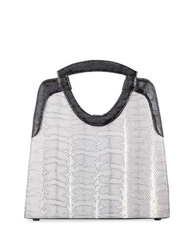 Small Keyhole Top-Handle Bag