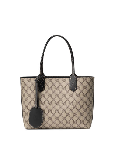 Small Reverse Double GG Tote Bag