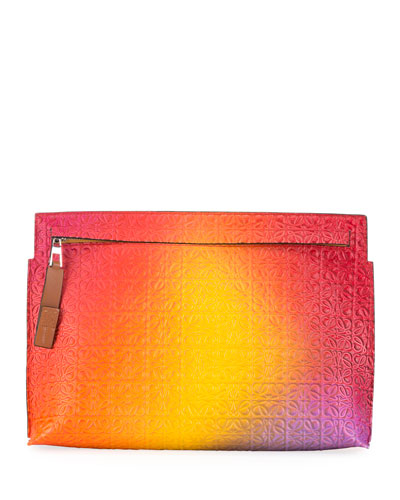 T-Pouch Repeat Spray Clutch Bag