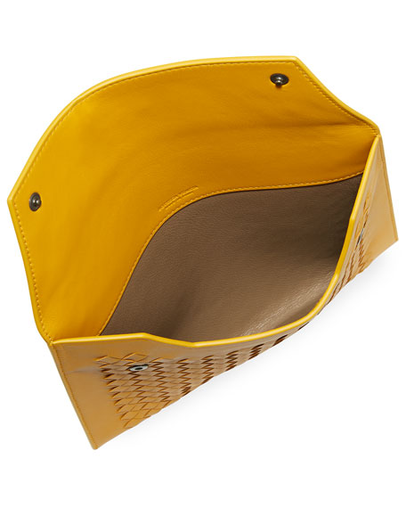 1473d1499ea Bottega Veneta Three-In-One Nesting Woven Leather Pouch Bags ...