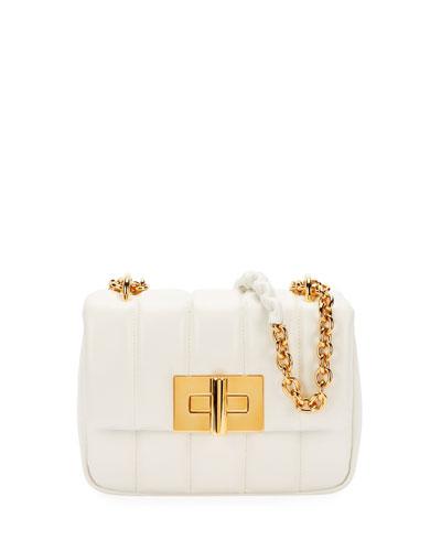 Natalia Small Soft Leather Shoulder Bag
