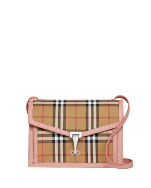 442876062f097 Burberry Macken Small Vintage Check Crossbody Bag