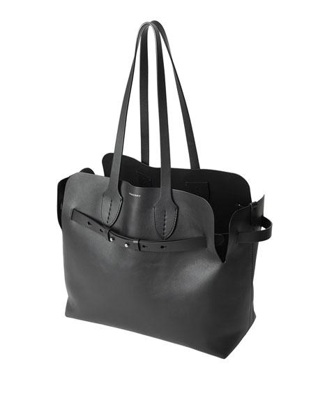 Burberry Medium Soft Leather Tote Bag