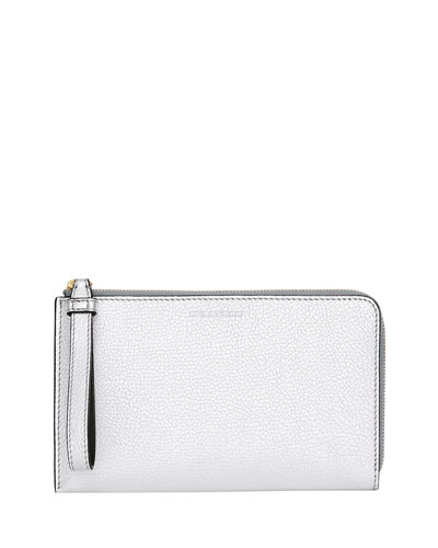 Nolan Metallic Leather Wallet