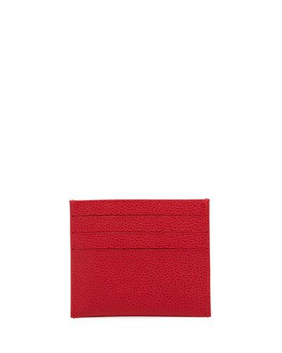 Veau Foulonne Leather Card Case